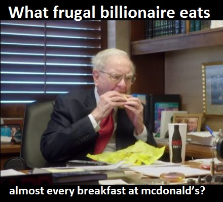 what-frugal-billionaire-eats-almost-every-breakfast-at-mcdonald's